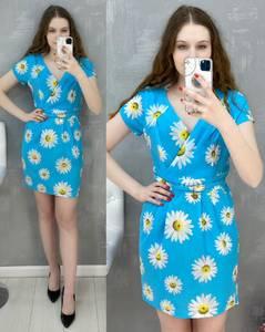 Платье короткое повседневное А30583