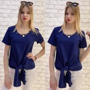 Блузка с коротким рукавом А37534