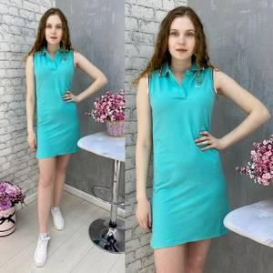 Платье короткое без рукавов А37578