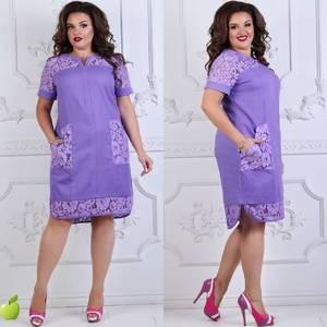 Платье короткое нарядное Ч4238