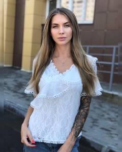 Блуза белая Ч8638