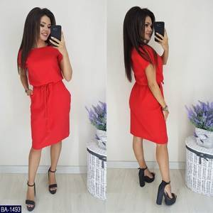 Платье короткое летнее А08708