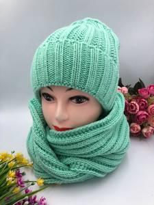 Шапка и шарф Хомут А10751
