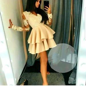 Платье короткое нарядное А10712