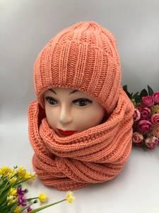 Шапка и шарф Хомут А10752
