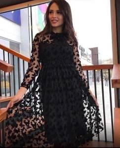 Платье короткое современное А19756