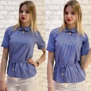 Блузка с коротким рукавом А37536