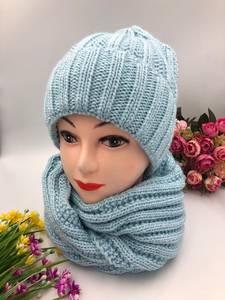 Шапка и шарф Хомут А10753