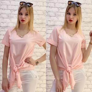 Блузка с коротким рукавом А37537