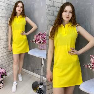 Платье короткое без рукавов А37581