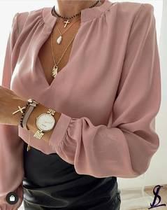 Блуза с длинным рукавом А32123