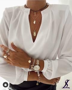 Блуза с длинным рукавом А32124