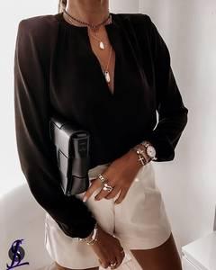 Блуза с длинным рукавом А32125