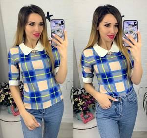 Блуза с коротким рукавом Я0629