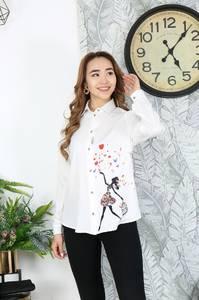 Рубашка с длинным рукавом Я2101