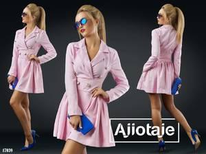 Платье короткое нарядное Я2205