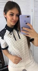 Блуза с коротким рукавом Я3323