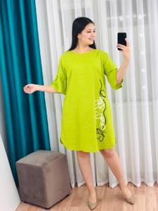 Платье короткое с принтом Я7965