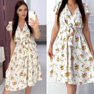 Платье короткое нарядное Я9503