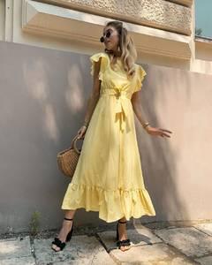 Платье длинное летнее А01528