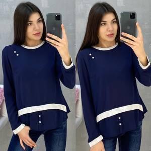 Блуза с длинным рукавом А07647