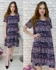 Платье короткое повседневное А30456