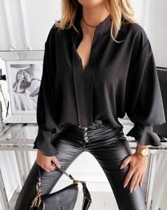 Блуза с длинным рукавом А30609
