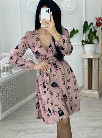 Платье короткое нарядное А30651