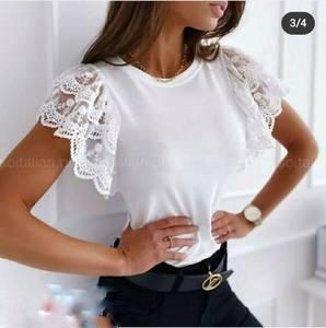 Блуза с коротким рукавом А31537