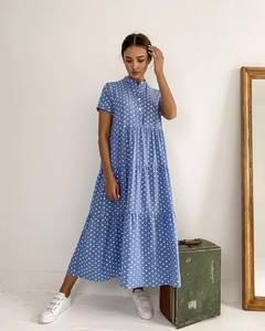 Платье длинное летнее А37622