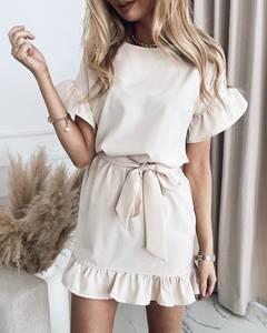 Платье короткое нарядное А39184