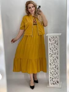 Платье Двойка длинное нарядное А50878
