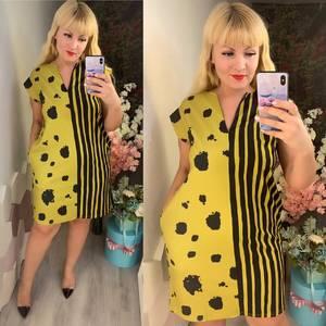 Платье короткое нарядное Ч2733