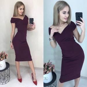 Платье короткое облегающее Ч3192