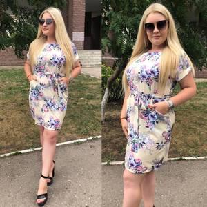 Платье короткое нарядное Ч4218