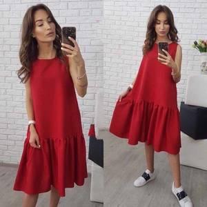 Платье короткое современное Ч4404
