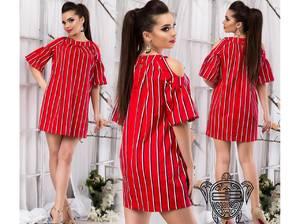 Платье короткое современное Ч4564