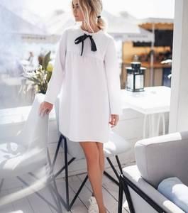 Платье короткое с длинным рукавом Ц5702