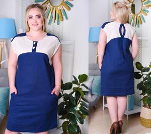 Платье короткое летнее Ч6976