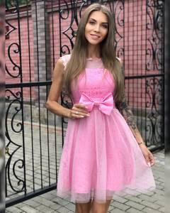 Платье короткое коктейльное Ч7296