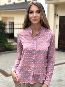 Рубашка с длинным рукавом Ш0792