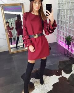 Платье короткое современное Ш1925