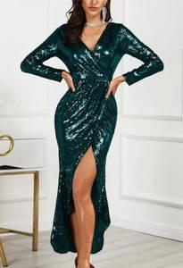 Платье длинное нарядное Ш5674