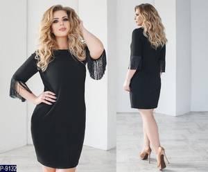Платье короткое нарядное Ш8150