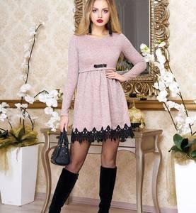 Платье короткое нарядное Ш8245