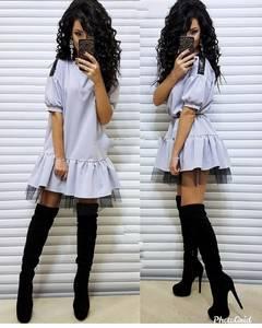 Платье короткое современное Ю2135