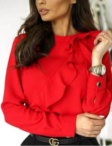 Блуза с длинным рукавом А24851