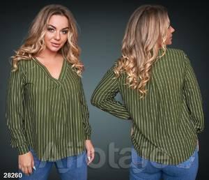 Блуза офисная Ю6336