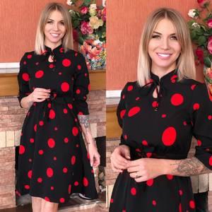 Платье короткое современное Ю6491