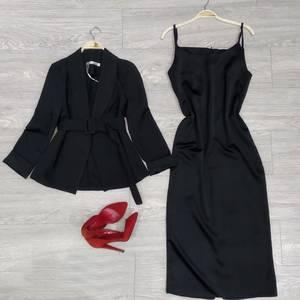 Платье Двойка длинное нарядное Ю8770